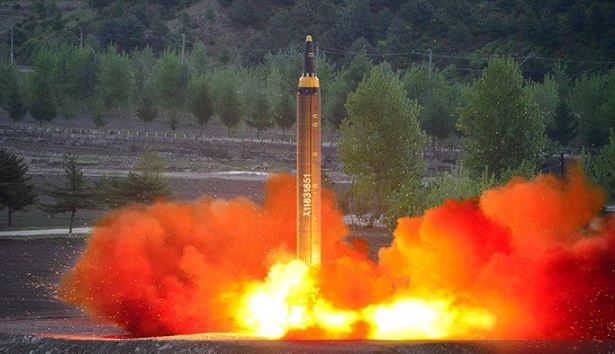 North Korea launches Ballistic Missile over Japan Sea