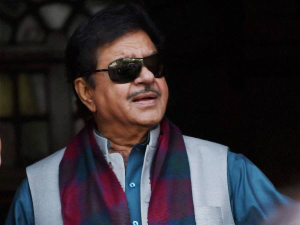As long as I am in BJP,Ill support it & follow every whip: BJP MP Shatrughan Sinha on No confidence motion