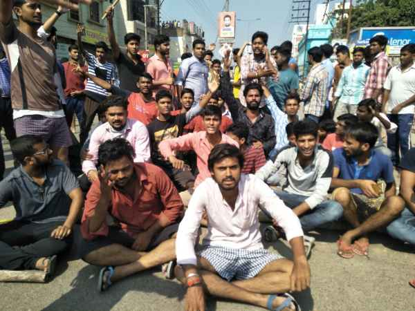 ABVP attack on Rahul Dubey supporters in kashi vidyapeeth, Varanasi