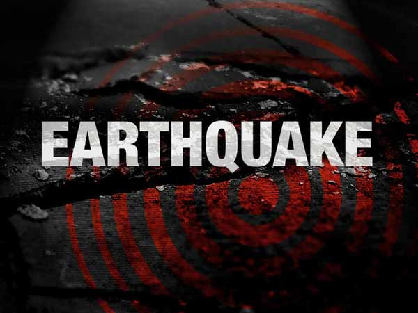 Strong earthquake tremors felt in Delhi.