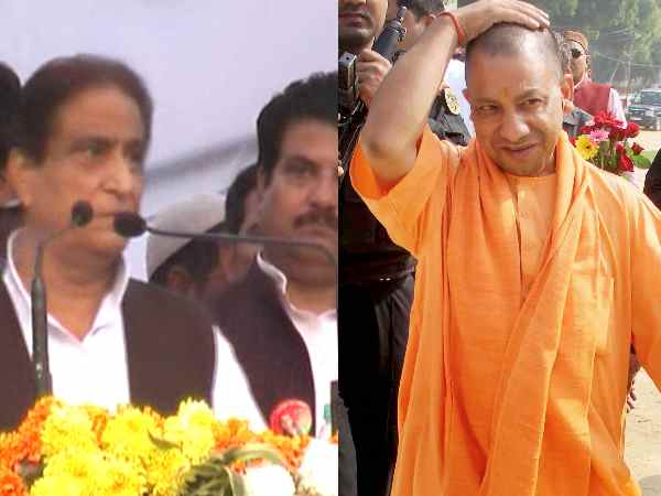Azam sppech in Sambhal, threatened officers and commented on Yogi and Modi