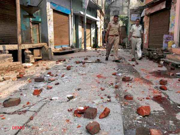 Communal Violence at Temple in Moradabad before Municipal Election