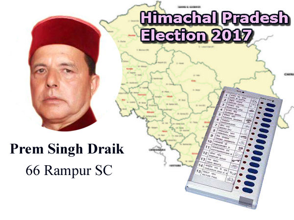 Prem Singh Daraik BJP candidate for Rampur Assembly seat