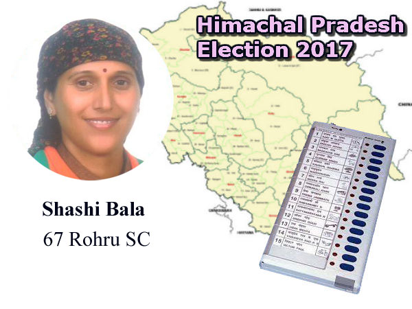 Shashi Bala BJP candidate from Rohru Assembly seat
