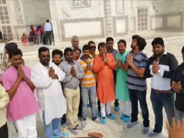 Edited Video on Tajmahal been Viral by BJP workers