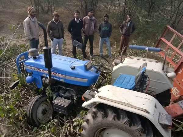 Two people killed when uncontrolled tractor hit them in Kannauj