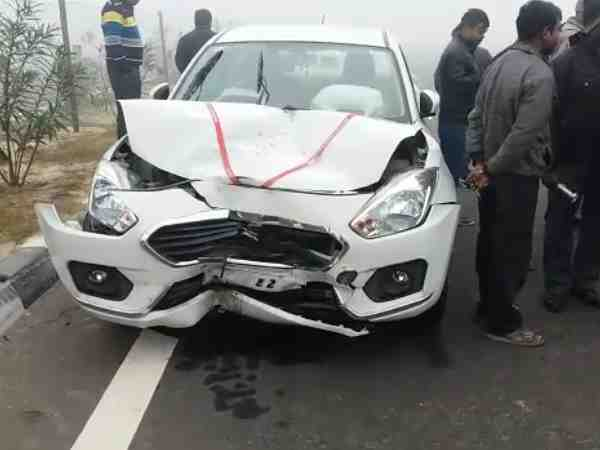 Agra Lucknow Express Way accident in Unnao