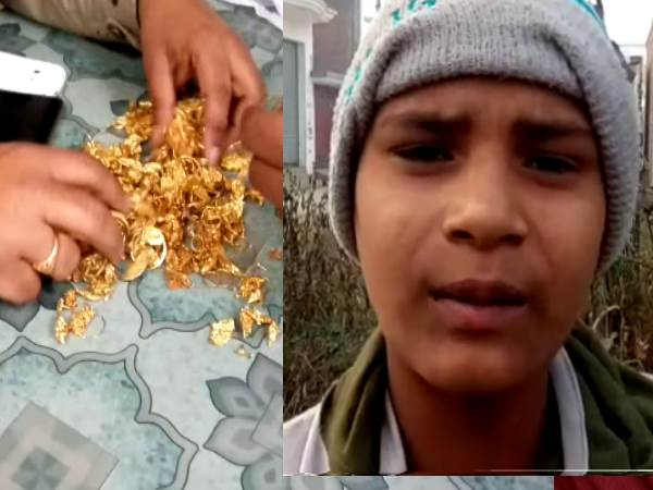 ragpickers got millions cost gold from the waste in Bareilly
