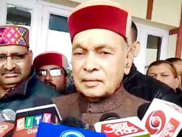 After Jai Ram declared CM, Dhumal is still problem for BJP in Himachal