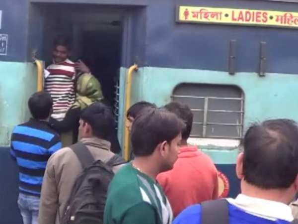 Women molested and looted in running train in Hardoi, Uttar Pradesh.