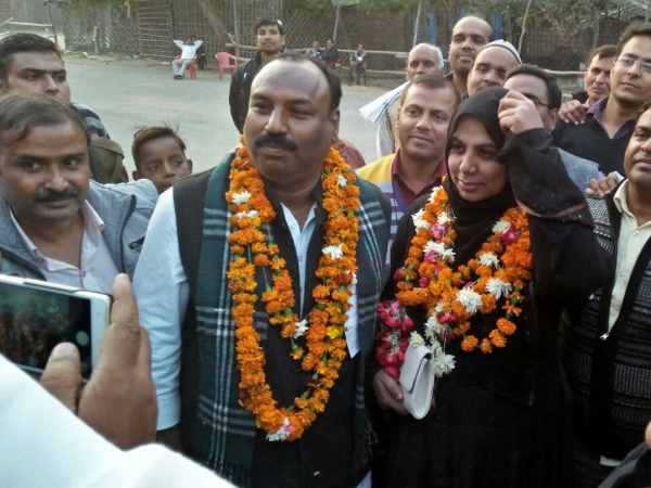 SP candidate Hazar Beghum defeated BJP candidate in Tilhar