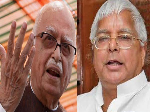 lalu told the story two plan-change for advani arrest