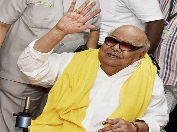 Karunanidhi in ICU, blood pressure stabilised after treatment