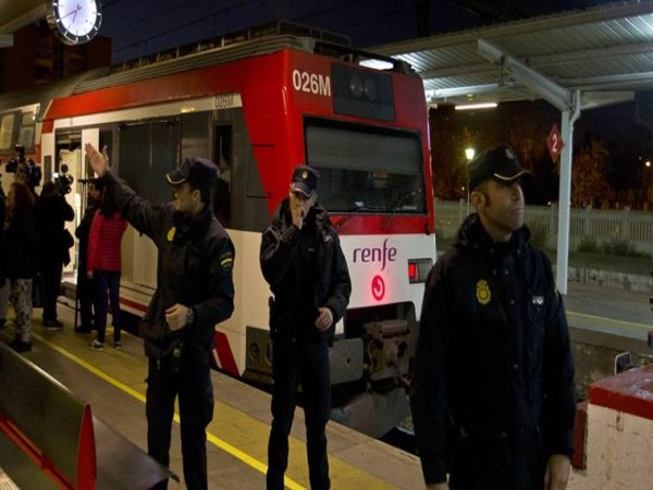 41 injured in train crash in Spain