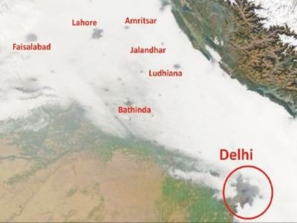 Urbanisation is punching holes in north India's winter fog