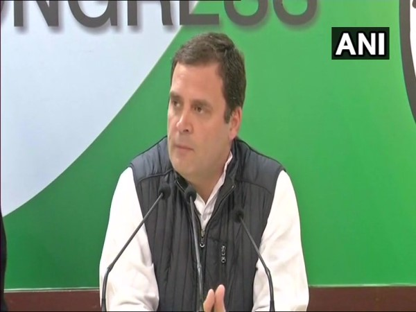 congress president Rahul Gandhi addresses issues on Supreme Court crisis