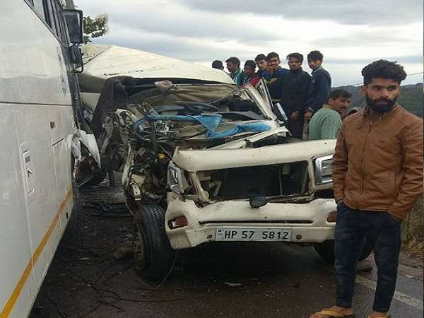 Four people died in a road accident
