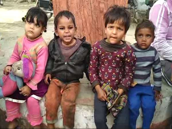man caught stealing 4 children in bareilly