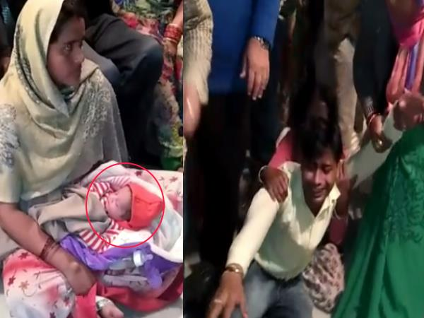 shahjahanpur due to carelessness of doctor woman died
