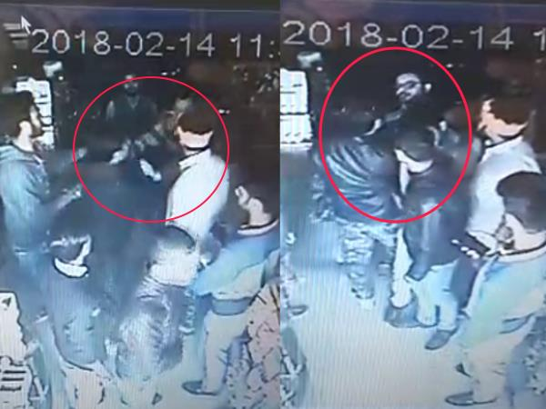 muzaffarnagar valentines day bajrangdal beaten bekari and beaten owner and couples