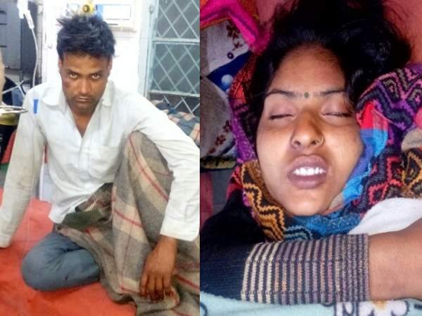 shahjahanpur brother in law beaten his sister in law for taking long over phone