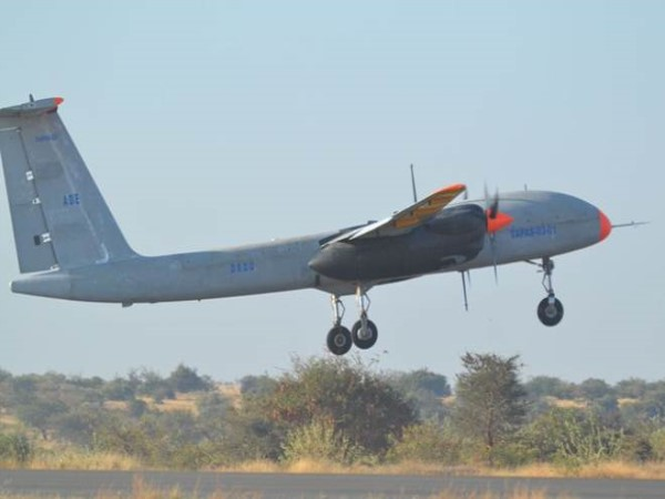 Home-Made Drone DRDO successfully carries out test flight of Rustom 2 drone