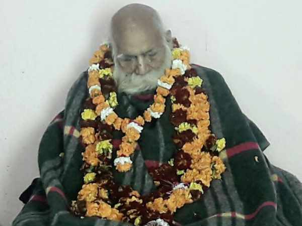 Naga baba who gave land for ram mandir in ayodhya passes away