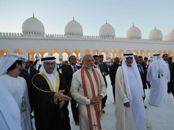 PM Modi Foundation Stone Ceremony For First Hindu Temple In Abu Dhabi