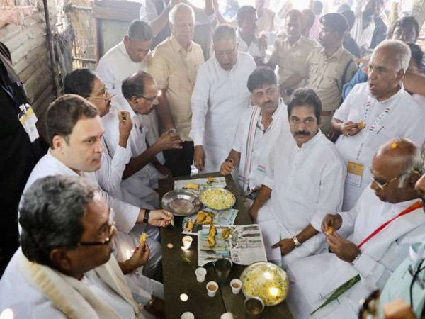 Rahul gandhi Eating Chicken Before Temple Visit May Be A Made-Up Story