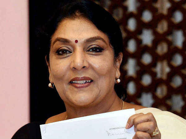 renuka chowdary attacks narendra modi says no gst on laughing