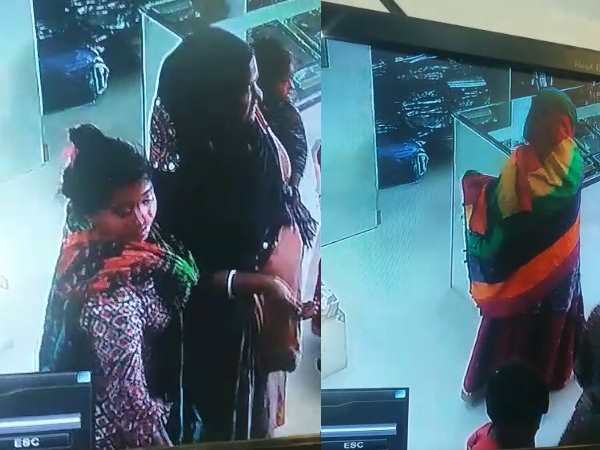 Female beggars theft gold from jewellers shop in Pune