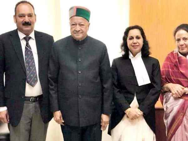 virbhadra singh daughter became manipur chief justice