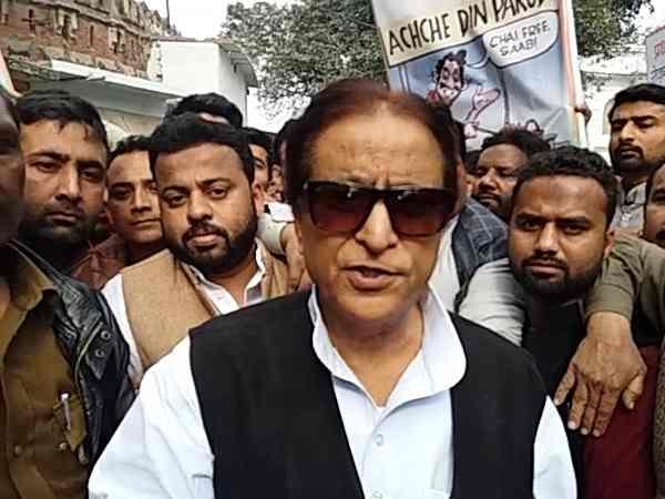 Devils Do Not Celebrate Eid Azam Khan Yogi Adityanath Video