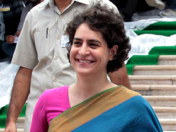 priyanka gandhi keeps close eyes on indian national congress 3 days session