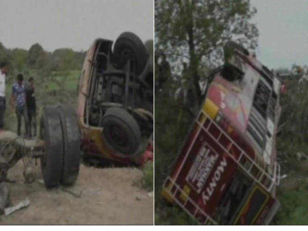 Jammu-Pathankot national highway many killed, 24 inured in a collision bus truck