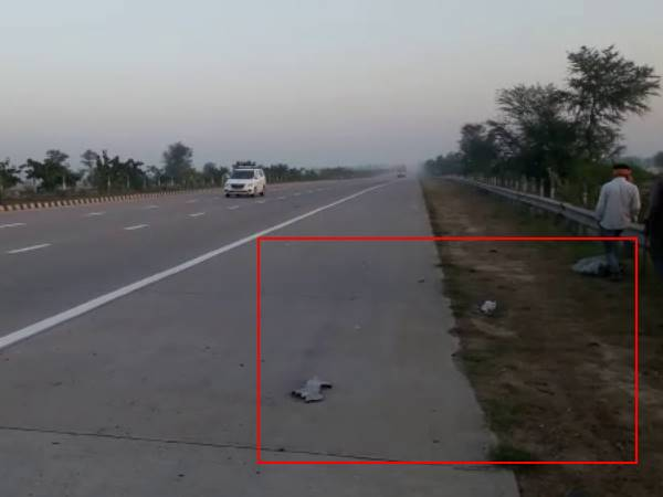 Seven doctors of AIIMS faced horrific accident on Yamuna Express way