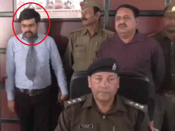IPS officer arrested in Hapur