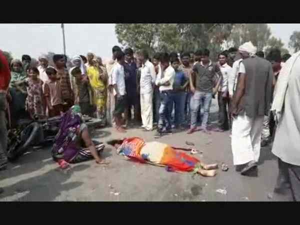 Five people died in accident in Kannauj