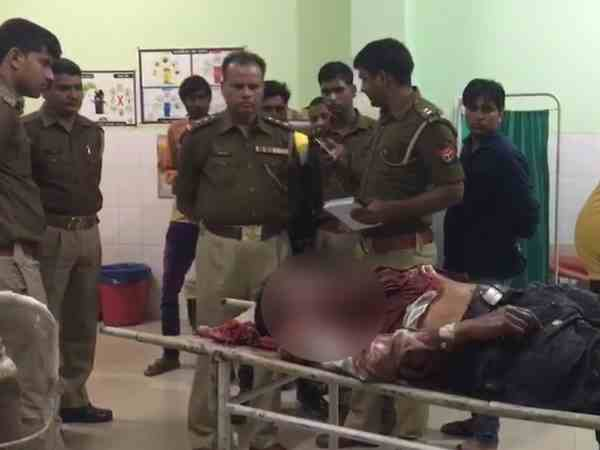 mathura retired sub inspector ded in firing