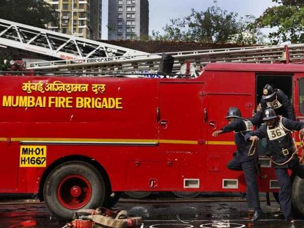 Fire Breaks Out Army Building In Mumbai Colaba