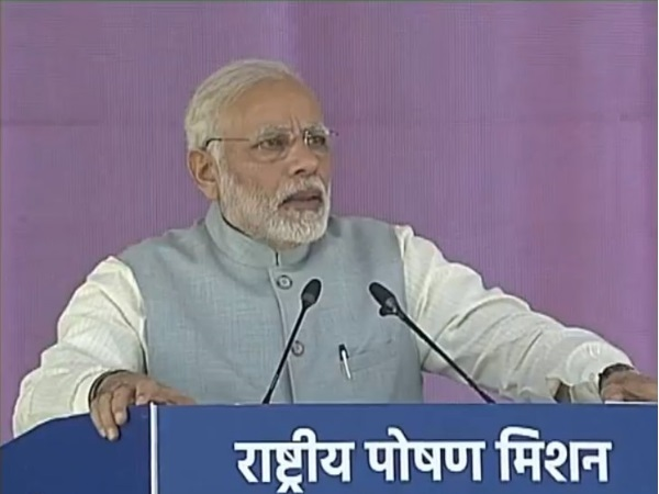 नरेंद्र मोदी ने बताया पीएम का नया मतलब, 'पीएम मतलब मोदी नहीं पोषण मिशन समझिए'
