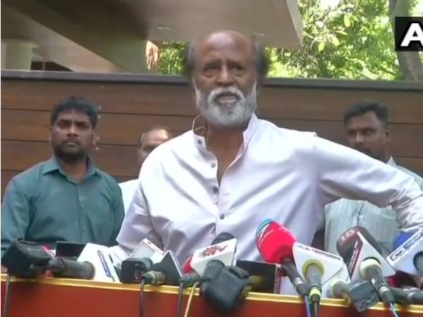 Rajinikanth in Chennai says God is behind me not BJP