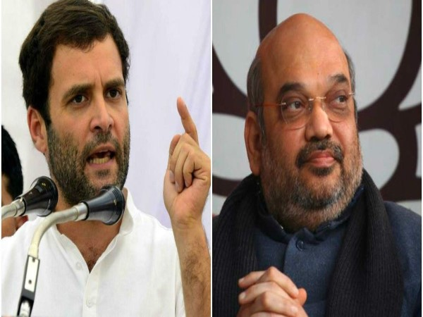 Election commission officials search planes of Rahul Gandhi and Amit Shah