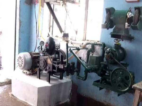 Automobile engineer invented a machine which clean water mixed with oil