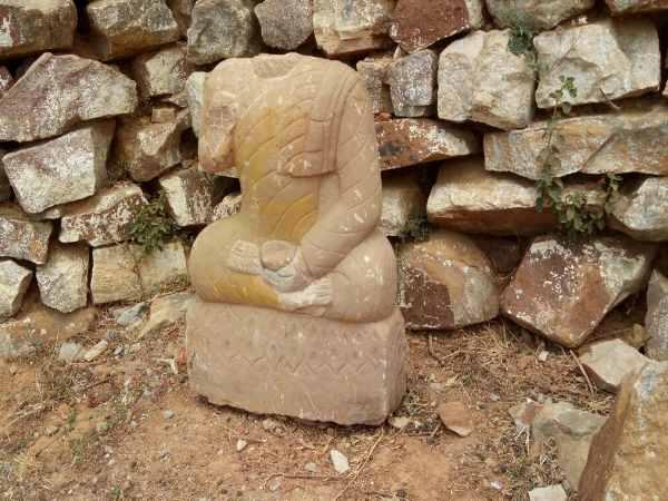 Image result for टूटी-फूटी मूर्ति