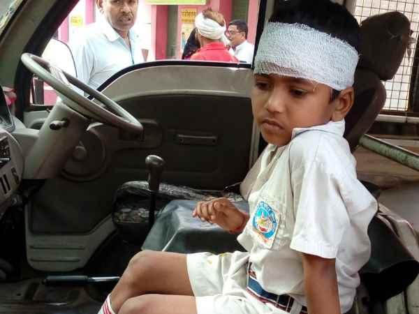 Many School Children Injured Accident In Bulandshahr
