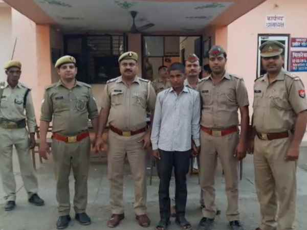 A youth immolated a neighbor girl in Sambhal arrested