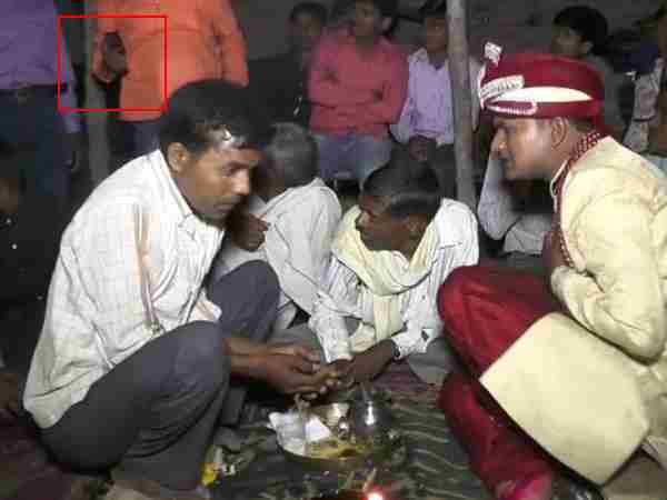 Death video of groom during ritual of marriage on Lakhimpur Khiri