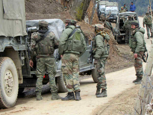 Jammu & Kashmir: Terrorists fired upon a police personnel in Shopian