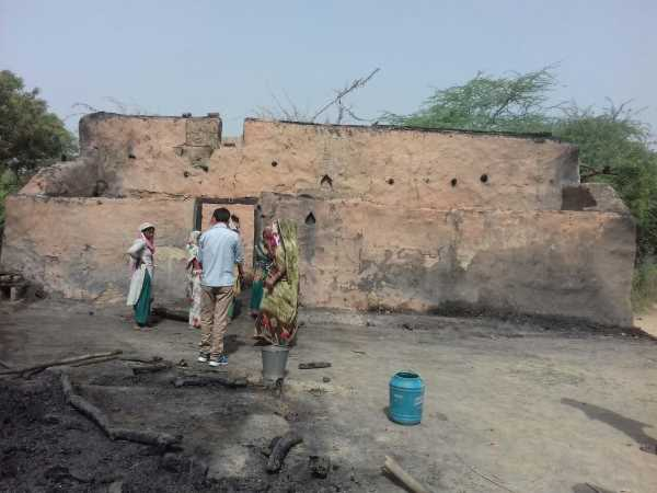 One child died in fire in Raebareli